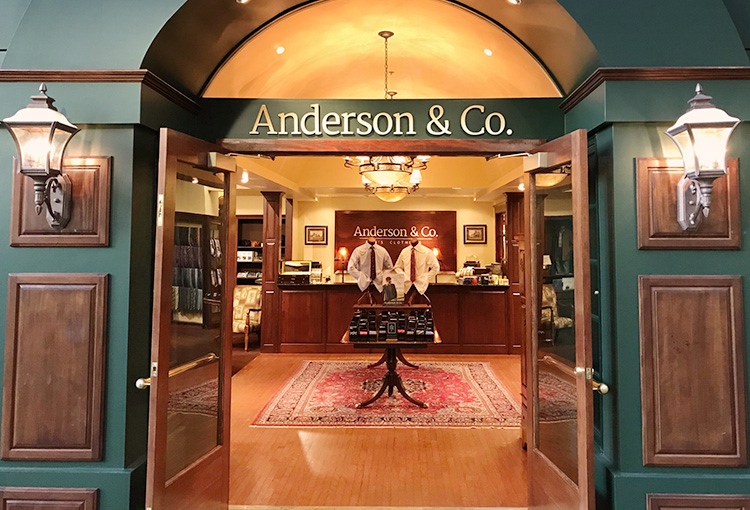 Anderson & Co. Store exterior